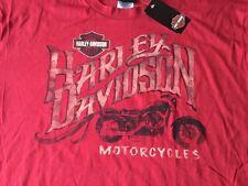 Harley Davidson Brick Red Shirt NWT Men's Large