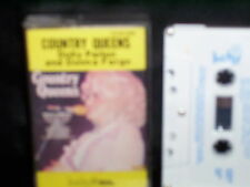 DOLLY PARTON and DONNA FARGO COUNTRY QUEENS - RARE AUSTRALIAN CASSETTE TAPE NM