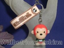 Cute Monkey Figure Cell Phone Flash Charm Pendant Strap