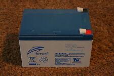 Ritar RT12120EV 12v 12ah - BAIT BOAT battery -  BRAND NEW - 12M RTB wty