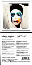 CD CARDSLEEVE 2T LADY GAGA APPLAUSE FRENCH LIMITED EDITION NEUF SCELLE