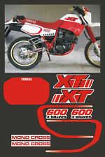Kit completo Yamaha XT 600 2KF 1986/49 mod. bianca e rossa