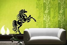 Wall Stickers Vinyl Decal Horse Racing Speed Animal ig107