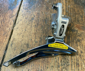 Retro Suntour XC Expert Front Derailleur 31.8mm. For Triple 48 Tooth. *NOS