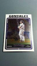 LUIS A. GONZALEZ 2005 TOPPS CHROME CARD # 446 B6558