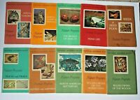 1957-63 Collection 10 National Audubon Society Nature Program Booklets w/ Stamps