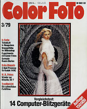 Color Foto 3/79 1979 Polaroid SX-70 Minolta XD-7 Tokina 4,0/28-85 mm Pentax SMC