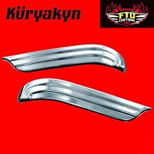 Kuryakyn Chrome Swingarm Accents for 09-17' H-D Touring 8696