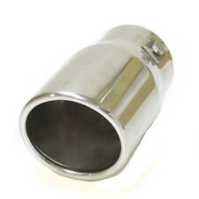Car Exhaust Tail Tip Pipe End Trim Muffler For Subaru Impreza Forester Legacy
