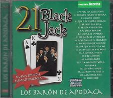 Los Baron de Apodaca 21 Black Jack CD New Nuevo sealed