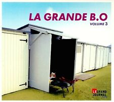 Compilation ‎CD Le Grand Journal Canal +: La Grande B.O Volume 3 - Digipak - Fra