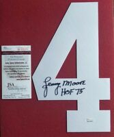 """Baltimore Colts"" Lenny Moore  Signed Jersey Number JSA CoA"