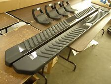 """OEM 2015 2016 Ford F150 Truck Running Boards Magnetic Grey 6"""" Crew Cab New T/Off"""