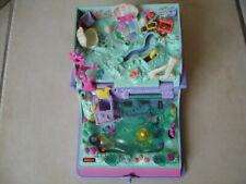 1995 Polly Pocket Sparkling Mermaid Adventure Sirène Bluebird Vintage Livre Book