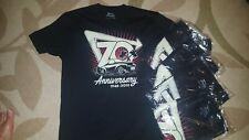 IN-N-OUT BURGER 70TH ANNIVERSARY T-Shirt MEDIUM *BLACK* NEW!!