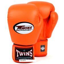 TWINS Boxhandschuhe, BGVL 3 Orange.12-16oz, Leder, Muay Thai, Kickboxen, K1, MMA