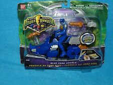 POWER RANGERS MIGHTY MORPHIN 2010 BLUE DINO ZORD + RANGER