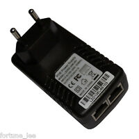 24V 1A PoE Adapter Power Charger Supply Power Over Ethernet Wall Plug RJ45