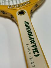 Vintage Wilson Chris Evert Championship, 4 1/2, Wooden Racquet Made In Taiwan