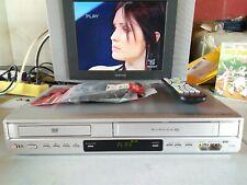 VIDEOREGISTRATORE VHS-DVD LG DVC9800 COMBO 6 TESTINE HI-FI NUOVO EX DEMO NEGOZIO