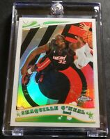 2006 SHAQUILLE O'NEAL TOPPS CHROME WHITE REFRACTOR #54 729/999 HEAT (266)
