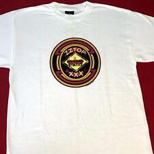 New! Zz Top Xxx Tour T - Shirt - Large - White
