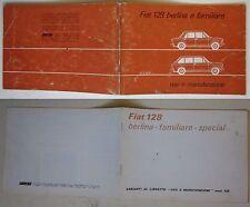 1974 FIAT 128 BERLINA 2-4 PORTE-FAMILIARE SPECIAL uso manutenzione originale