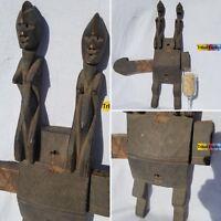 PEERLESS Dogon Granary Door Lock Figure Sculpture Statue Mask Fine African Art