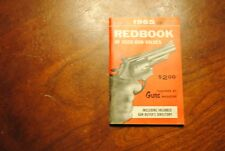 REVISED 1965 EDITION, REDBOOK of Used Gun Values - published by Guns Magazine