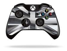 SILVER Union Jack XBOX ONE Controller Remoto / Gamepad Pelle / coperchio / VINILE xb1r15