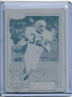 1/1 JIM BROWN 1988 SWELL CARD PRINTING PLATE CLEVELAND BROWNS 32 Yrs OLD 1 OF 1