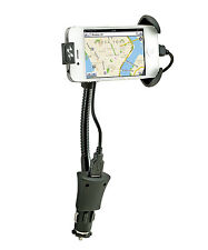 Sumex Pulse Car Free Standing Mobile Smartphone iPhone 4, 5, 6 Holder & Charger