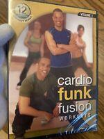 Robert Ferguson's 12 Minute Cardio Funk Fusion Workouts: Volume 1 (DVD) exercise