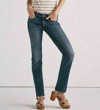 NWOT Lucky Brand Women's Sweet Mid Rise Straight Jeans Relaxed Fit Size 8 P1