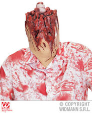 Severed Head Mask Bloddy Zombie Halloween Fancy Dress Accessory