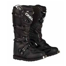 Oneal KIDS Rider Motocross Dirtbike Boots BLACK Size 13-5