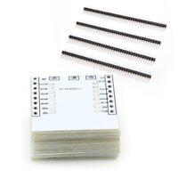 10 x ESP8266 WiFi Module Breakout Board / Adapter Plate for ESP-07 ESP-08 ESP-12
