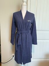 New Madewell Embroidered Robe Heather Admiral Sz Xs/S H2706