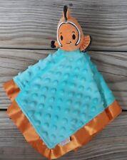 Hallmark Disney Finding Nemo Baby Security Blanket Plush Fish Lovey Blue Orange