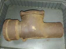 """4"""" Cast Iron Sewer Backwater Flapper Style Check Valve"""