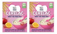Nestle Cerelac Fortified Baby Cereal with Milk,Wheat-Rice Mixed Fruit,300 gm x 2