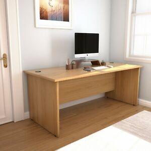 RZ Rectangular Panel Desk, 80 cm Deep, 4 Widths, 6 Colours