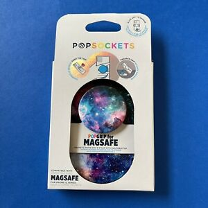MAGSAFE Popsockets Popgrip—Blue Nebula—Magnetic Pop-Up Holder / Stand