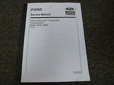 Ford New Holland 8630 8730 8830 Transmission Shop Service Repair Manual