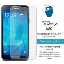 Premium Gorilla Tempered Glass Screen Protector Film For Samsung Galaxy S5 Neo