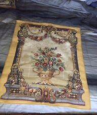 Jardin Beaumesnil point des meurins French Gobelin Art Wall Tapestry Hanging