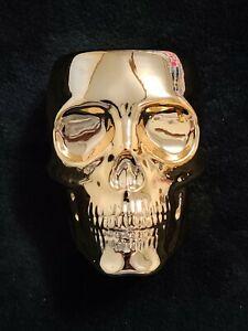 Bath & Body Works Gold Skull Soap Holder