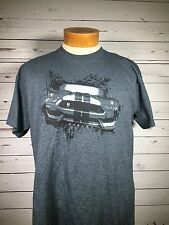 Ford Shelby GT350 Promotional Men's Dark Gray T-shirt Sz L Large O