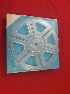 Movie Reels, 400', 120m,  Super 8mm New Dasco brand. Cased Film Reels, FREE POST