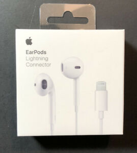 Official Apple EarPods Wired Earphone [ Lightning Connector ] NEW